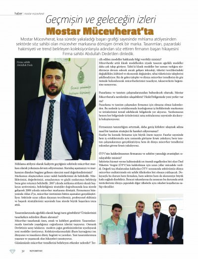 KUYUMTIME MAGAZİNE JUNE 2015